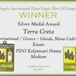 Award Silver Medal Award 2010 (USA)
