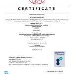 Certifikat IFS Certification (Higher level) by ECO CERT