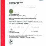Certifikat Tuv Iso 22000