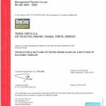 Certifikat Tuv Iso 9001