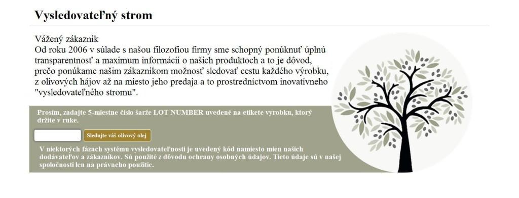 Company - vysledovatelný strom preklad