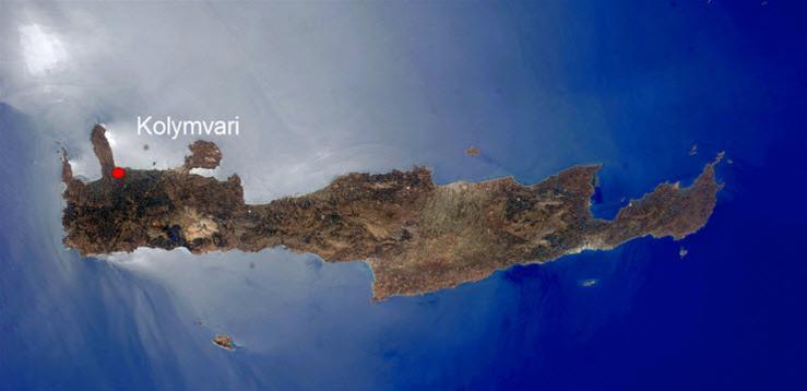 Kreta Kolymvari region