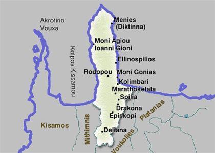 Mapka oblast Kolymvari