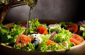 Recepty salat so zeleným