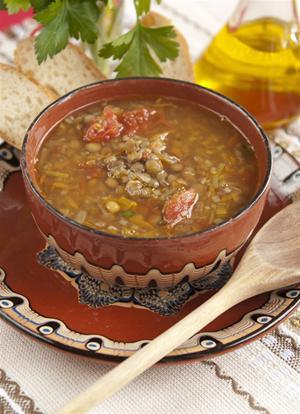 Recepty sosovicova polievka