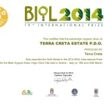 Award Biol Gold 2014